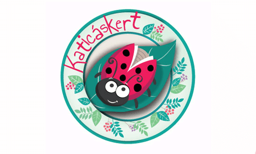 logótervezés-katicaskert